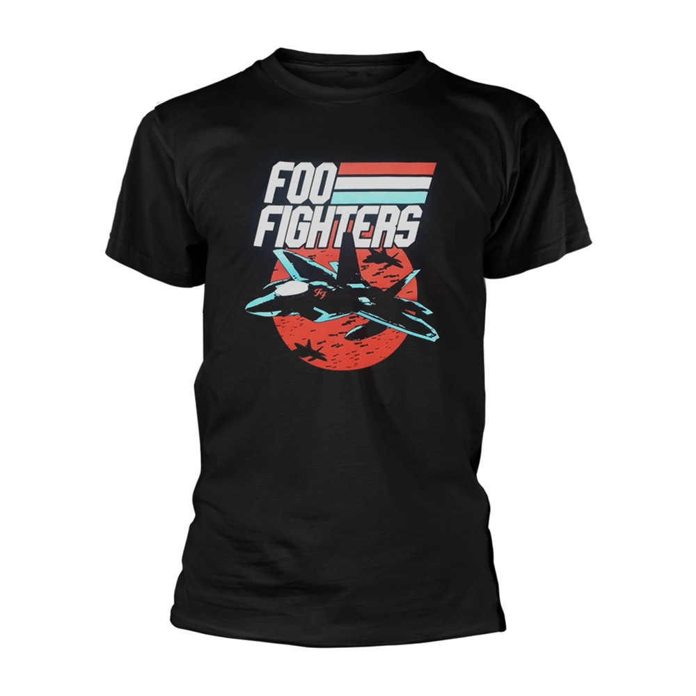 Official Black T Shirt FOO FIGHTERS Concrete and Gold JETS Black All Sizes