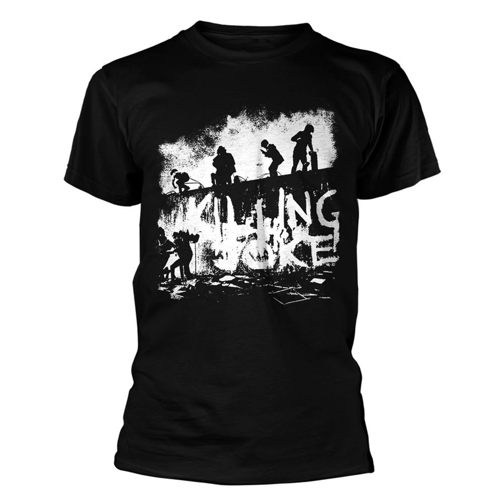 """Official T shirt KILLING JOKE Rock /""""le monde de demain/"""" Cover 1980 Toutes Tailles"""