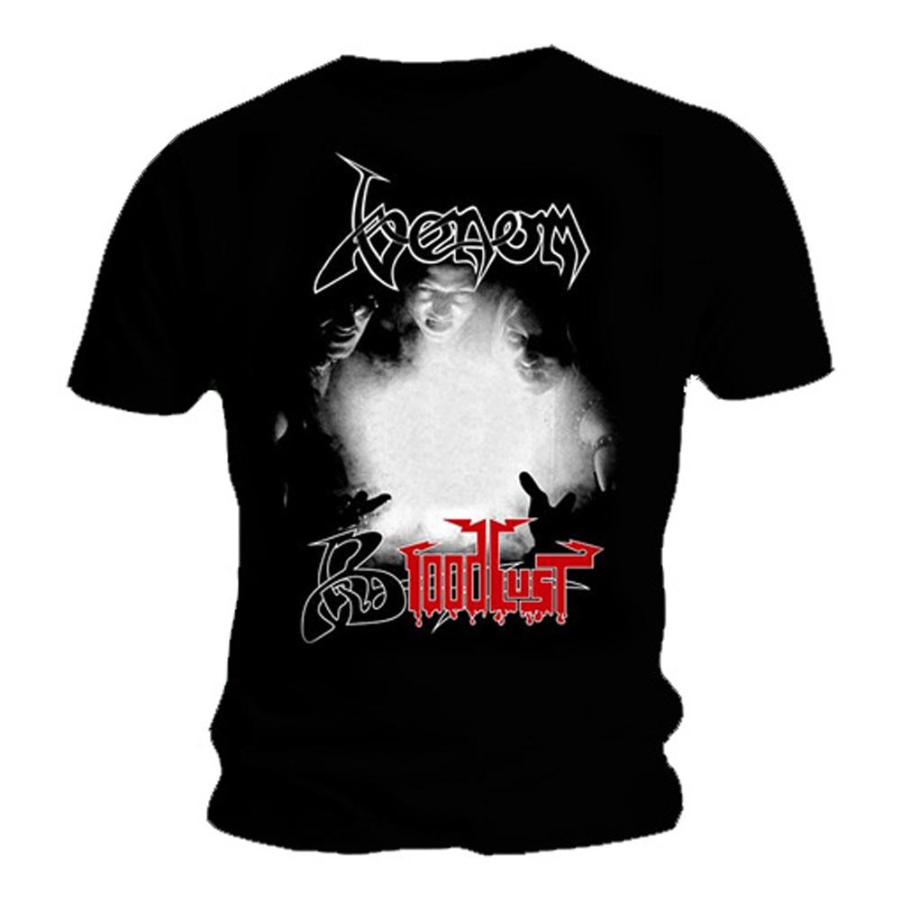 Oficial T Shirt Venom Black Death Metal Sed De Sangre Letras Todos Los Tamaños