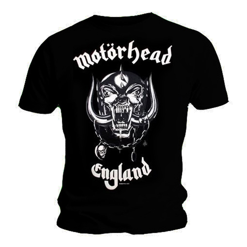 Official-T-Shirt-MOTORHEAD-Everything-Louder-ENGLAND-All-Sizes