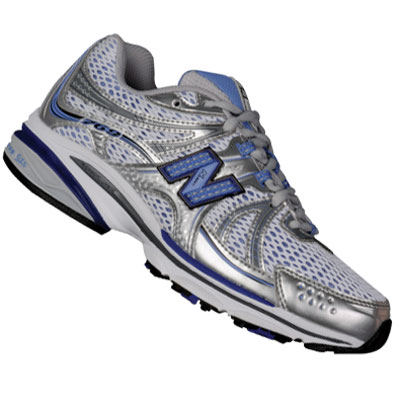 New Balance 669 Running Trainers Shoes White/Silver/Blue Womens Size Enlarged Preview