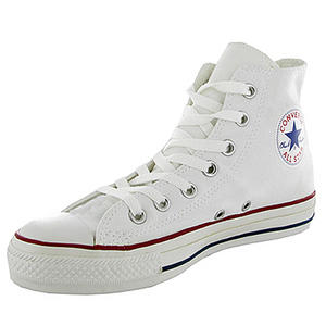 View Item Converse All Star HI Canvas Trainers Pumps Shoes White Size 3 - 11