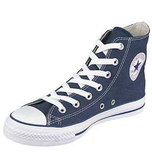 Converse All Star HI Canvas Pumps Trainers Shoes Navy Blue Size 3- 11