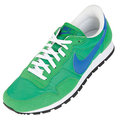 Nike Metro Plus C II Trainers Green/Blue/White Mens Size Enlarged Preview