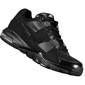 View Item Nike SC 2010 Low Trainers Black/Silver Mens Size