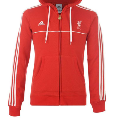 f0b81cc8d4dc Image is loading Adidas-Liverpool-CO-LFC-Hoody-Red-White-Mens-