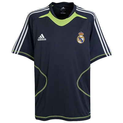 Adidas Real Madrid Training Jersey Shirt Blue Mens Size Preview