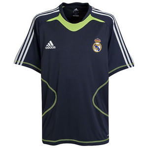 View Item Adidas Real Madrid Training Jersey Shirt Blue Mens Size