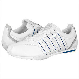 View Item K-Swiss Arvee 1.5 Low Trainers White/D-Blue Mens Size