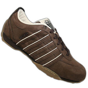 View Item K-Swiss Arvee 1.5 Low Trainers Esp-Brown Mens Size