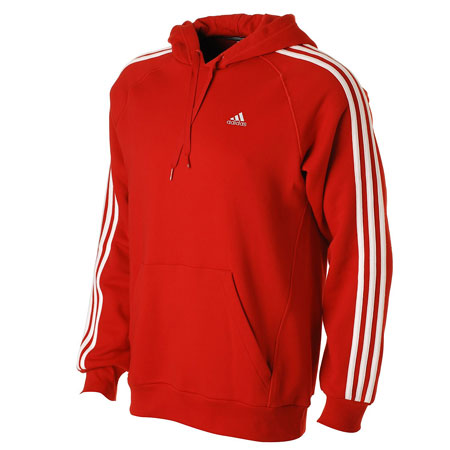 herren sweatshirt adidas essential 3s kapuze kapuzenpullover rot ebay. Black Bedroom Furniture Sets. Home Design Ideas