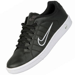 View Item Nike Court Tradition II Trainers Black/White Mens Size