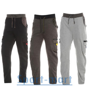 View Item Soul Star Webber Cuffed Fleece Jogging Bottoms Trousers Mens Size