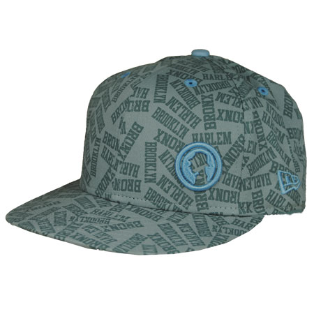 Projekts Brooklyn Fitted Trucker Caps Mens - Grey/Blue Preview