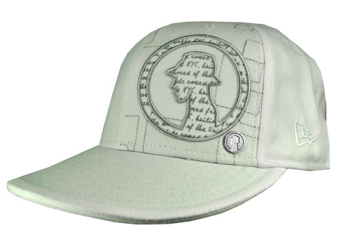 Projekts Badge Fitted Trucker Caps Mens - Ivory/Silver Preview