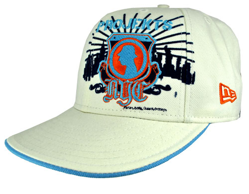 Projekts 59Fifty Fitted Trucker Caps Mens White/Orange Preview