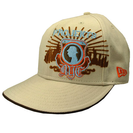 Projekts 59Fifty Fitted Trucker Caps Mens Beige/Orange Preview