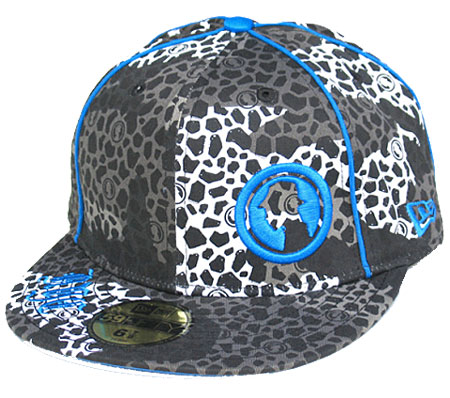 Projekts Camouflage Fitted Trucker Caps Mens Black/Blue Preview