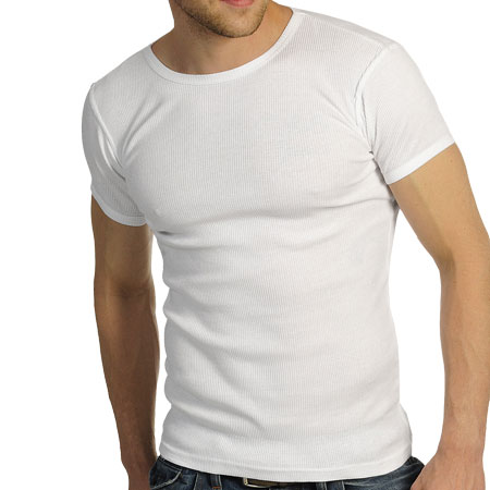 soul star fitted ribbed crew neck t shirt mens sizes ebay ForMens Ribbed T Shirts