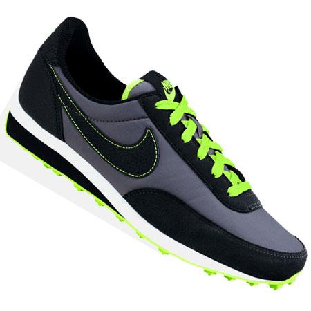 Nike Elite Running Trainers Grey/Black/Lime Boys Size Preview