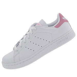 View Item Adidas Originals Stan Smith 2 Trainers White/Pink Mens Size