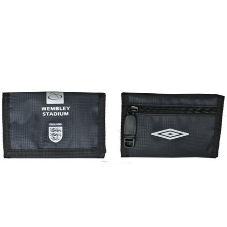Umbro England Wembley Trifold Wallet Blue/White Mens Enlarged Preview