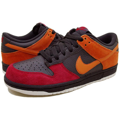 Nike Dunk Low CL Mens Trainers Brown/Orange/Blaze New