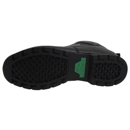 ee5e1496da1cf8 Lacoste Horben Leather Trainers Black Grey Mens Size   denim mens jeans