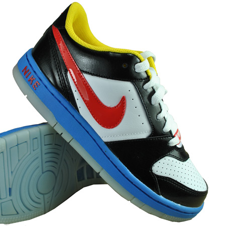 Nike Prestige 2 GS Trainers White/Black/Red Kids Size Preview