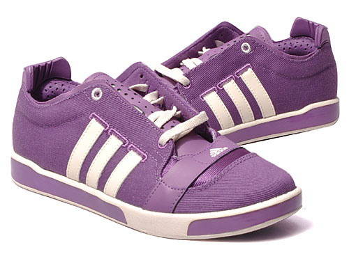 Adidas a/f 80 Canvas Pumps Trainers Purple/White Womens Size UK Preview
