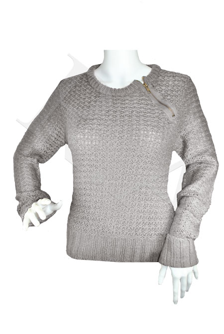 strickpulli pullover damen rundhals designer rei verschlu ebay. Black Bedroom Furniture Sets. Home Design Ideas
