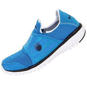 View Item K-Swiss Blade Light Running Trainers Blue/White Womens Size