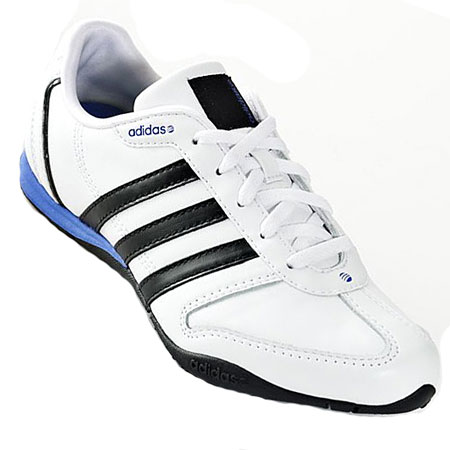 Adidas Renewal Leather Trainers White/Black Womens Size Preview