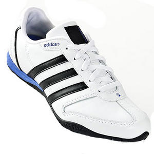 View Item Adidas Renewal Leather Trainers White/Black Womens Size