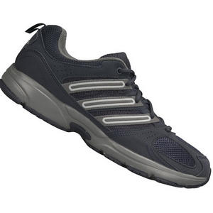 View Item Adidas Cool Walk Mesh Running Trainers Dark Grey Mens Size