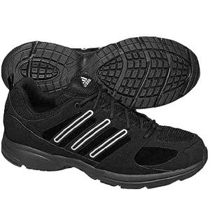 View Item Adidas Cool Walk Suede Mesh Running Trainers Black/Grey Mens Size