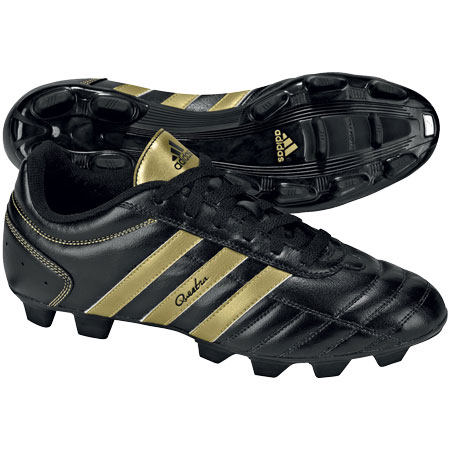 Adidas Questra III TRX FG Football Boots Black/Gold Mens Size Preview