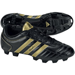 Adidas Questra III TRX FG Football Boots Black/Gold Mens Size