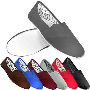 View Item Soul Star Canvas Pumps PlimSolls Espadrilles Slip On Trainers Mens Size