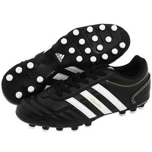 Adidas Questra III MG Football Boots Black/White Mens Size