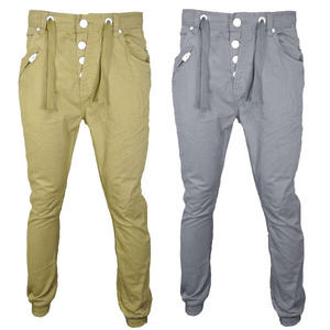 View Item 55Soul Cargo Carrot Fit Chino Trousers Pants Mens Waist Size