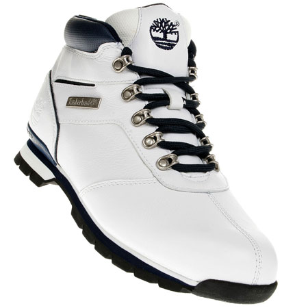 Timberland Split Rock 2 Hiker Boots White/Navy-Blue Mens Size Preview