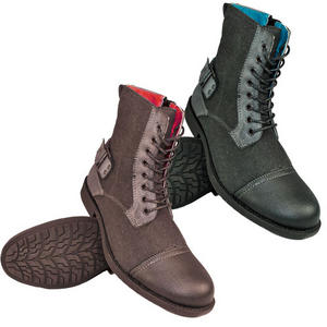 Soul Star Kilimanjaro Lace Up Military Style Zip Combat Boots Mens Size