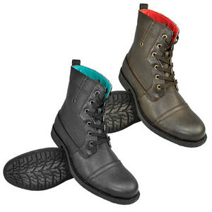 Soul Star Everest Lace Up Military Style Combat Boots Mens Size