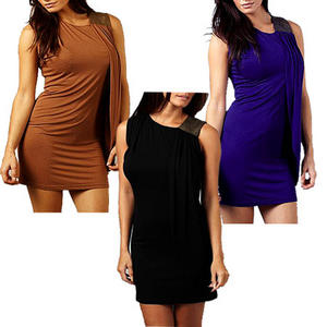 View Item Bodycon Sequin Shoulder Drape Mini Party Dress AX Paris Womens Size 8-14