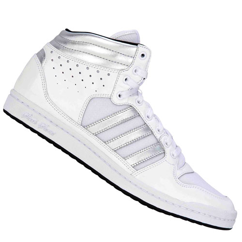 Adidas Originals Decade High Sleek Trainers White/Silver Womens Size Preview