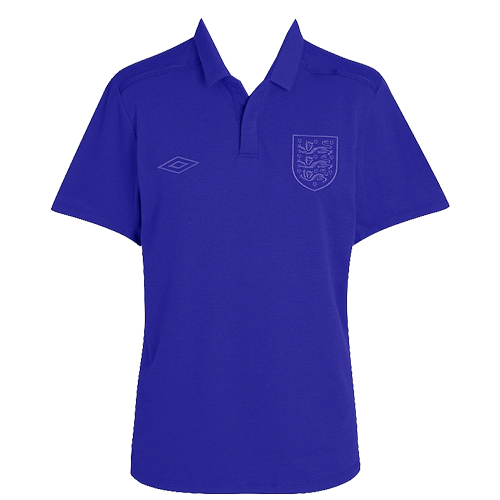 Umbro-The-Fabric-of-Modern-England-Official-Polo-Shirt-Mens-Size