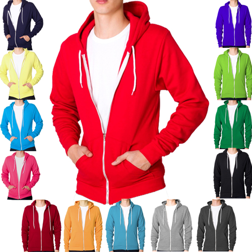 Raiken Apparel Flex Fleece Full Zip Hoody Hooded Top Hoodie Mens Size S to XL Enlarged Preview