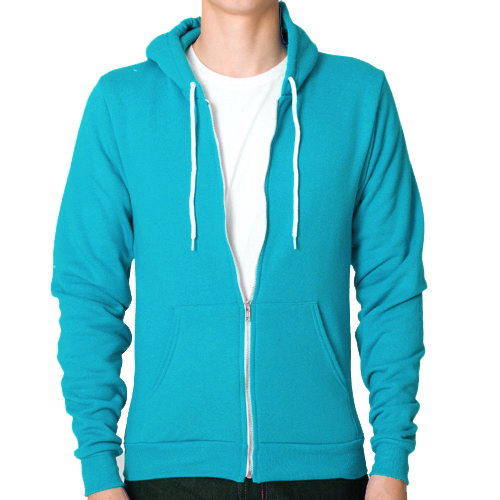 Raiken-Apparel-Flex-Fleece-Full-Zip-Hoody-Hooded-Top-Hoodie-Mens-Size-XS-to-3XL