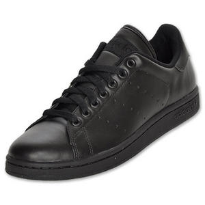 View Item Adidas Originals Stan Smith 2 Leather Trainers Black/Grey Mens Size